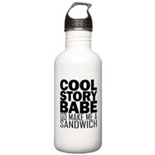 Cool Story, Babe Water Bottle
