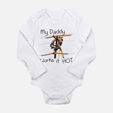 new pole daddy works it hot Body Suit