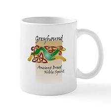 Colorful Celtic Greyhound Mug