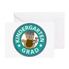Kindergarten Grad Greeting Card