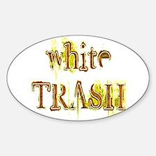 White Trash Decal