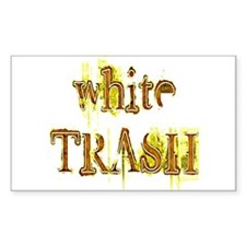 White Trash Decal