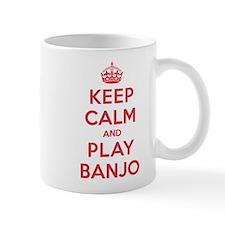 Keep Calm Play Banjo Mug