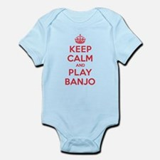 Keep Calm Play Banjo Infant Bodysuit