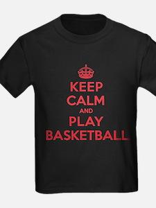 Keep Calm Play Basketball T