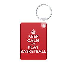 Keep Calm Play Basketball Keychains