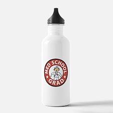 Med School Grad (Female) Water Bottle