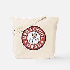 Med School Grad (Female) Tote Bag