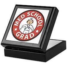 Med School Grad (Female) Keepsake Box