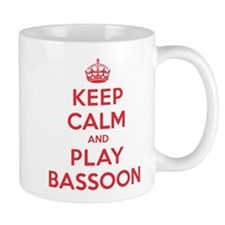 Keep Calm Play Bassoon Mug