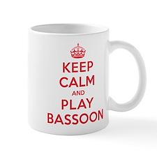 Keep Calm Play Bassoon Small Mug