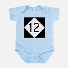Route 12 Infant Bodysuit