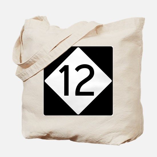 Route 12 Tote Bag
