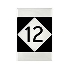 Route 12 Rectangle Magnet