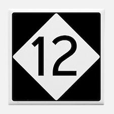 Route 12 Tile Coaster