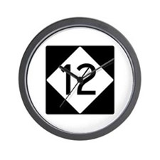 Route 12 Wall Clock