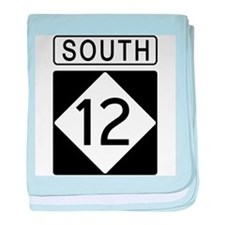 Route 12 South baby blanket