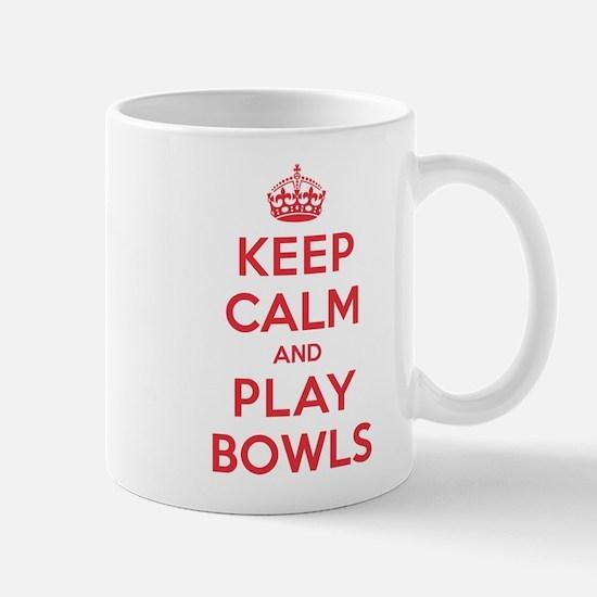 Keep Calm Play Bowls Mug