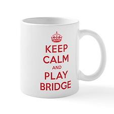 Keep Calm Play Bridge Mug