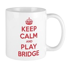 Keep Calm Play Bridge Mug