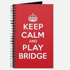 Keep Calm Play Bridge Journal