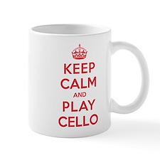 Keep Calm Play Cello Mug