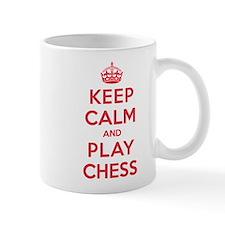 Keep Calm Play Chess Mug