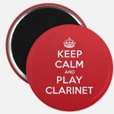 """Keep Calm Play Clarinet 2.25"""" Magnet (10 pack)"""