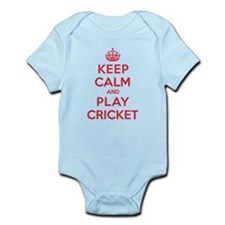 Keep Calm Play Cricket Onesie