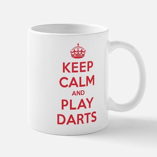 Keep Calm Play Darts Mug