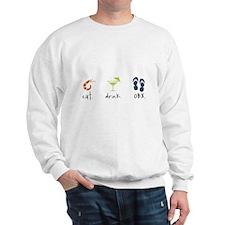 Eat. Drink. OBX. Sweatshirt