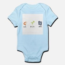 Eat. Drink. OBX. Infant Bodysuit