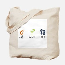 Eat. Drink. OBX. Tote Bag