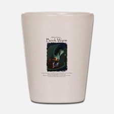 Advice from a Book Wyrm Shot Glass