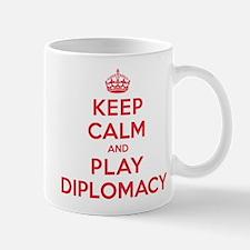 Keep Calm Play Diplomacy Mug