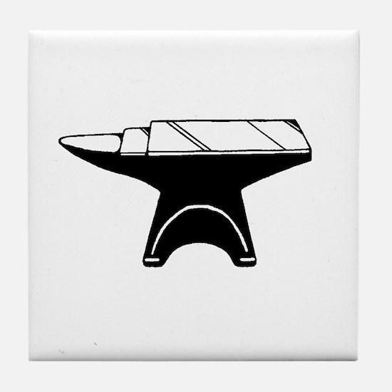Anvil.jpg Tile Coaster