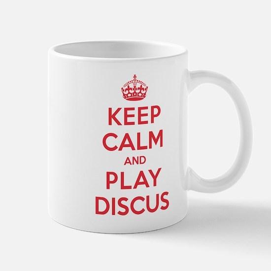 Keep Calm Play Discus Mug