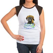 Dane Birthday Brindle UC Women's Cap Sleeve T-Shir