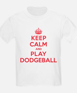 Keep Calm Play Dodgeball T-Shirt