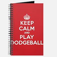 Keep Calm Play Dodgeball Journal