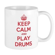 Keep Calm Play Drums Mug