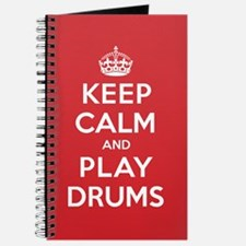 Keep Calm Play Drums Journal