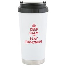 Keep Calm Play Euphonium Thermos Mug
