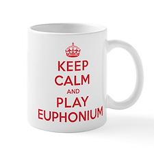 Keep Calm Play Euphonium Small Mug