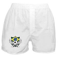 Brasil World Cup Soccer Boxer Shorts