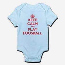 Keep Calm Play Foosball Infant Bodysuit