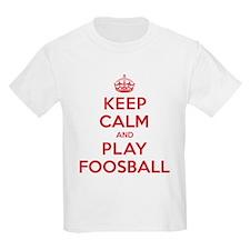 Keep Calm Play Foosball T-Shirt