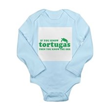 If You Know Tortugas Long Sleeve Infant Bodysuit