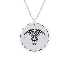 A.A. Logo Taurus B&W - Necklace Circle Charm