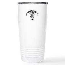 A.A. Logo Taurus B&W - Travel Mug